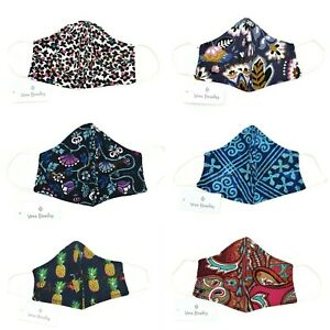 Vera Bradley Non Medical 100% Cotton Face Mask - Choose Your Patterns - 1/22/21