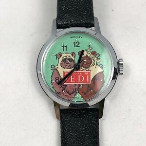 Bradley Return of the Jedi Star Wars Ewok Wind-up Mechanical Wrist Watch 1983