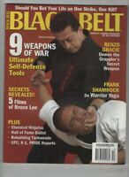 Black Belt Magazine Christian Harfouche Renzo Gracie October 2004 052820nonrh