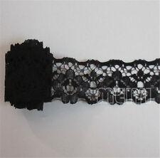3m Vintage Black Lace Edge Trim Ribbon Applique DIY Bridal Wedding Sewing Crafts