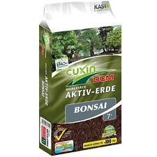 Cuxin Aktiv Erde Bonsai 7 L Liter Torf Kalk Sand Lava