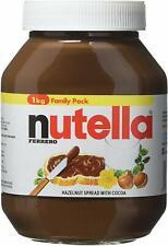1kg Nutella Hazelnut Chocolate Spread Cocoa Family Pack Breakfast Dessert