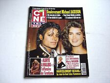 MICHAEL JACKSON Brooke Shields on cover CINE magazine 1993 David Hasselhoff