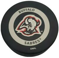 BUFFALO SABRES NHL VINTAGE OFFICIAL GAME PUCK GARY B. BETTMAN INGLASCO - 🇨🇦