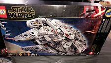 Lego Star Wars Millennium Falcon (75257) Box has dents product inside new