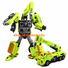 "Weijiang Devastator Robots Hook Action Figure 8"" Toy New without Box"