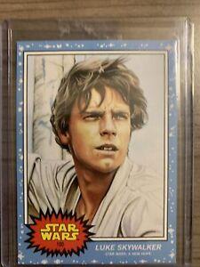 2020 Topps Star Wars Living Set #100 Luke Skywalker
