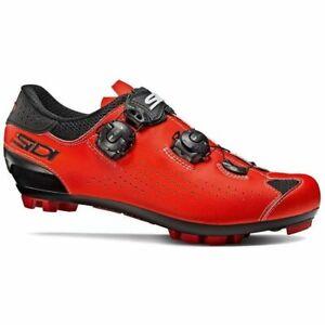 Sidi Eagle 10 MTB Mountain Bicycle Cycle Bike Shoes Black / Red