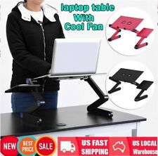 360° Foldable Lap Desk Portable Computer Laptop Stand Table Standing Bed Desk