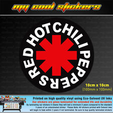Red Hot Chili Peppers 10cm Vinyl Sticker Decal, 4X4 Ute Car band music RHCP rock