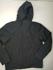 The North Face DRYVENT Hooded 2 In 1 Coat Jacket Mens Sz M Black