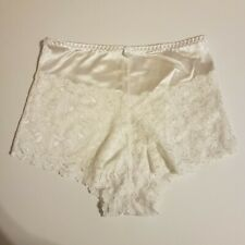 Vintage Satin & Lace White Sz Xl G-149