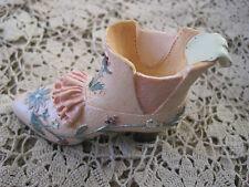 "Shoe Figurine Heel Peach Boot 3.5"""
