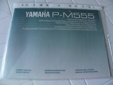 Yamaha P-M555 Owner's Manual Operating Instruction New