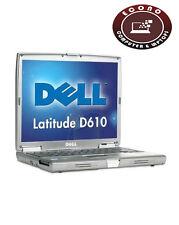 Dell Latitude D610 14.1in Laptop PM 1.73GHz 2GB 40GB CD Windows 10