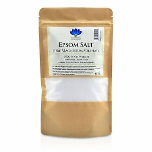 Epsom Salts - Pure Medical Grade Magnesium Sulphate Bath Minerals - 500 grams