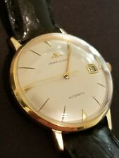 Vintage jaeger lecoultre automatic solid 18K watch just serviced