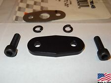96-04 4.6 Mustang GT or Cobra Billet Aluminum EGR delete plate kit (Black)
