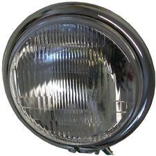 "Headlight Complete Bottom Mount Chrome Bates 5.75"""