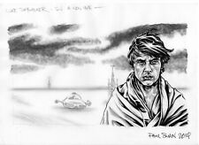 LUKE SKYWALKER (A New Hope) - Original Art