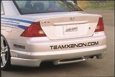 Xenon Rear Polyurethane Valance Bumper Lip 01 02 03 Honda Civic 2DR Coupe #10204
