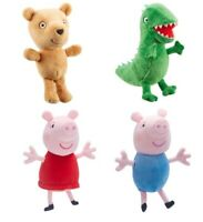 """Peppa Pig Plush Toy Supersoft Beanie Plushie Teddy 6"""" / 16cm - Choose Character"""