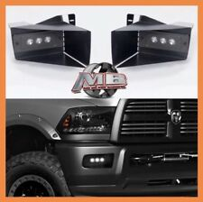 Plug & Play Putco Ram Clear LED Fog Lights For 09 10 11 12 Dodge Ram 1500 5500K