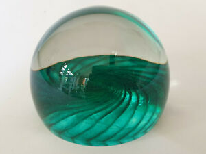 JAGUAR CARS MOTORS PROMOTIONAL GLASS PAPERWEIGHT NUMBERED CAITHNESS