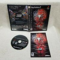 Spider-Man 3 Sony PlayStation 2 PS2 Complete Cleaned Tested Authentic FREE SHIP!
