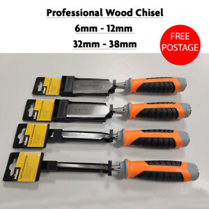Professional Wood Chisel Carpenter Cr-V Chisels DIY Carpentry Workshop