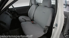 Toyota Hilux Rear Canvas Seat Covers Heavy Duty Double Cab GENUINE NEW