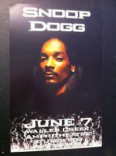 Snoop Dogg Snoop Lion Rare Original Austin Texas Rap Hip-Hop Concert Poster