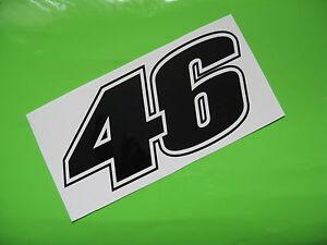 ROSSI 46 sticker/decal x2