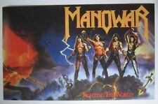 "Manowar Fighting The World poster 29""x18"" (74x46cm)"