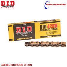 D.I.D 428RJ HEAVY DUTY GOLD BLACK CHAIN 428x134 LINKS FOR YAMAHA YZ85 2015