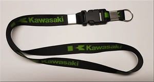"KAWASAKI 14"" KEY LANYARD KEY CHAIN KEY HOLDER   MOTORCYCLE WATERCRAFT"
