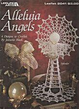 Alleluia Angels Crochet Patterns Tree Topper Centerpiece Jeanette Black LA 2041