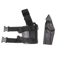 Nueva llegada de pistola táctica pierna funda pistola Airsoft hunitng Cinturón Cinturón Colt 1911