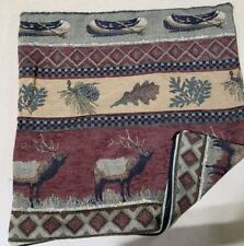 20x20 Sierra Lodge Rustic Cabin Throw Pillow Cover only
