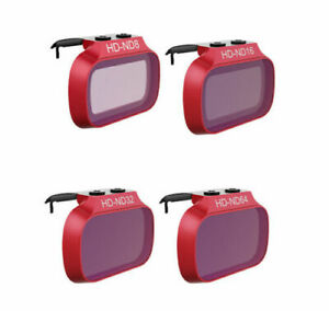 PGYTech 4 ND Lens Filter Set PRO ND8 ND16 ND32 ND64 For DJI Mavic Mini 2 1 Drone