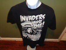 THE PRODIGY INVADERS MUST DIE CONCERT TOUR T-SHIRT SIZE ADULT MEDIUM EDM