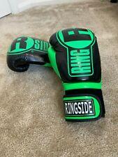 Ringside Boxing Apex Fitness Bag Gloves - Green/Black