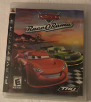 Cars Disney Pixar Race O Rama THQ PS Playstation 3 Video Game