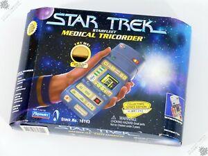 PLAYMATES STAR TREK MEDICAL TRICORDER PACKAGING ONLY STARFLEET TNG SPACE TOY