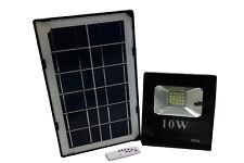 Faro led 10W con pannello solare luce fredda faretto slim esterno casa giardino