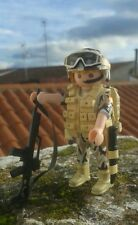 Playmobil custom soldado ejército militar Español policia guardia civil soldier