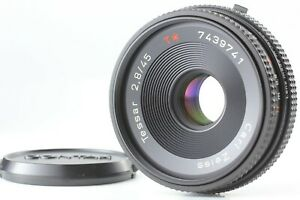 CLA'd【 NEAR MINT 】 Contax Carl Zeiss Tessar T* 45mm f/2.8 MMJ MF Lens from JAPAN