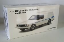 1:18 Scale Biante Holden HX Sandman Panelvan with Surfboards - Cotillion White