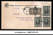 HAITI - 1948 ENVELOPE TO USA WITH F.D.ROOSEVELT STAMPS