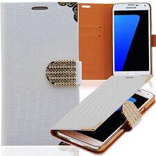 Luxus STRASS Handy Tasche LG Optimus 4x HD P880 WEISS Schutz hülle Case Cover